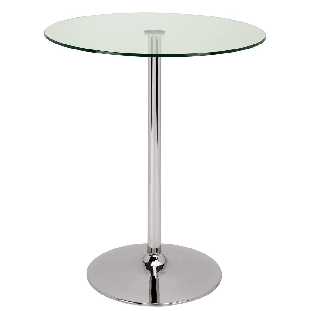 Tersus bar table clear