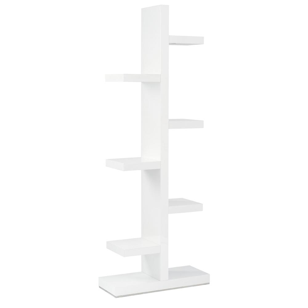 Branch shelving bookcase white