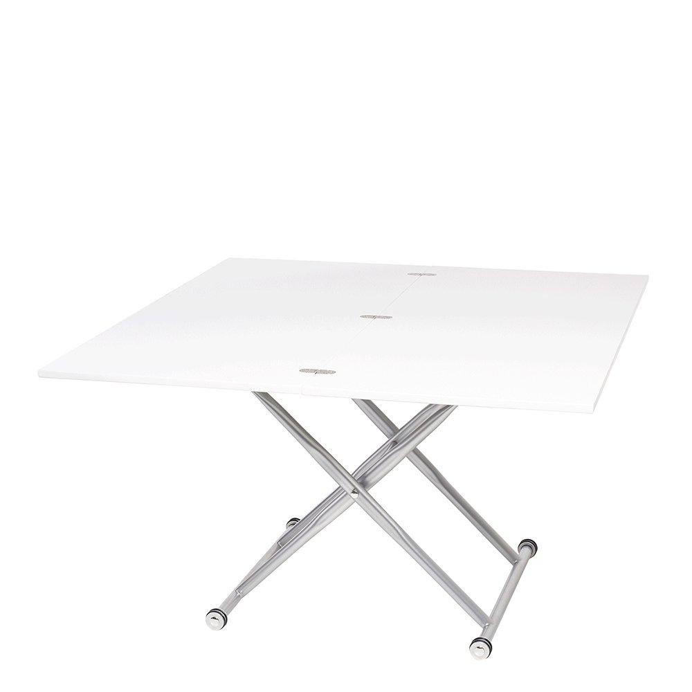 Salire extending coffee table white