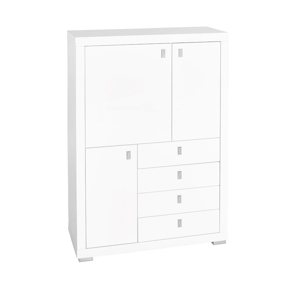 Malone II tall sideboard white