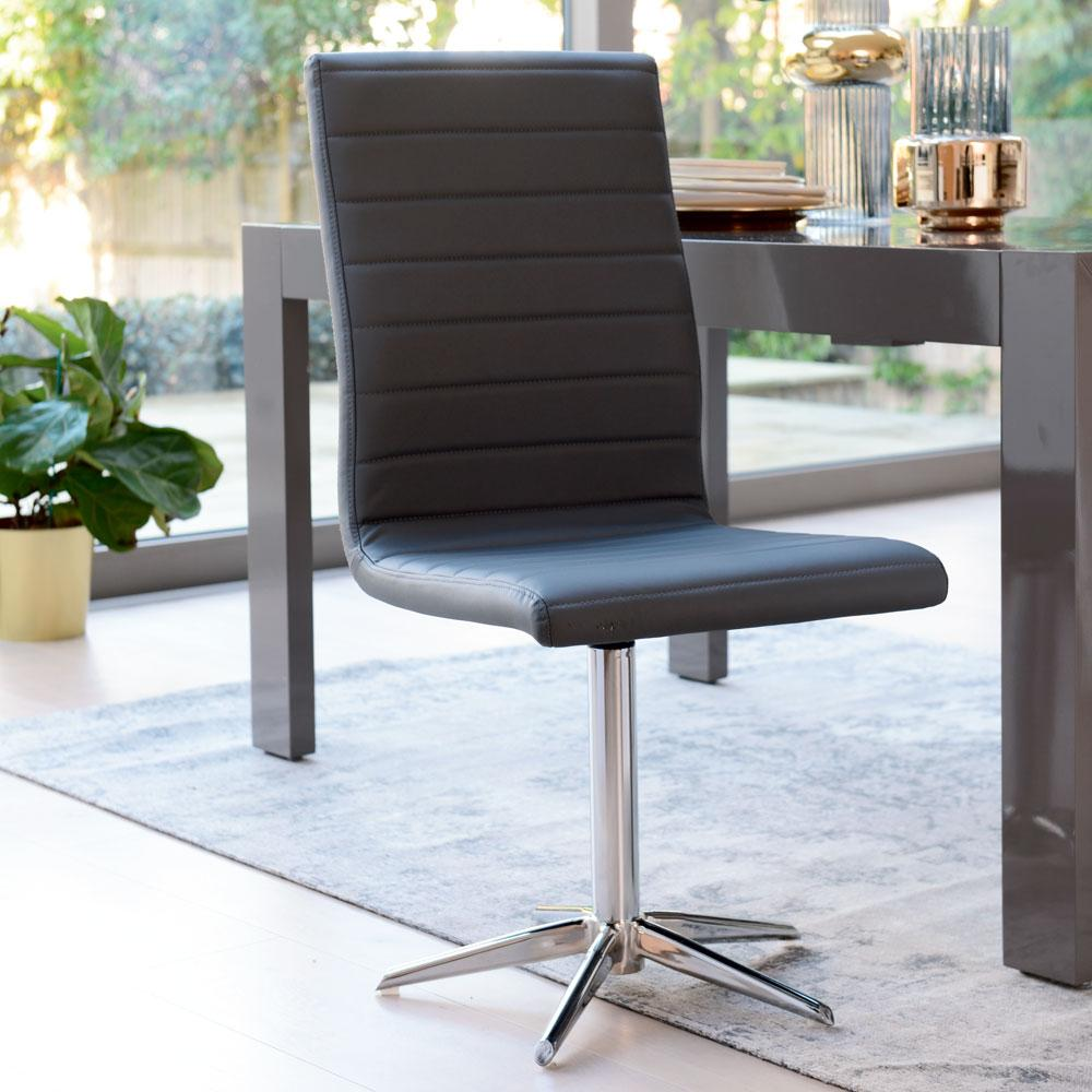Versa dining chair grey