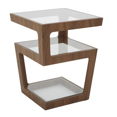Living Room Side Tables Modern High Gloss Glass Wooden Designs Dwell