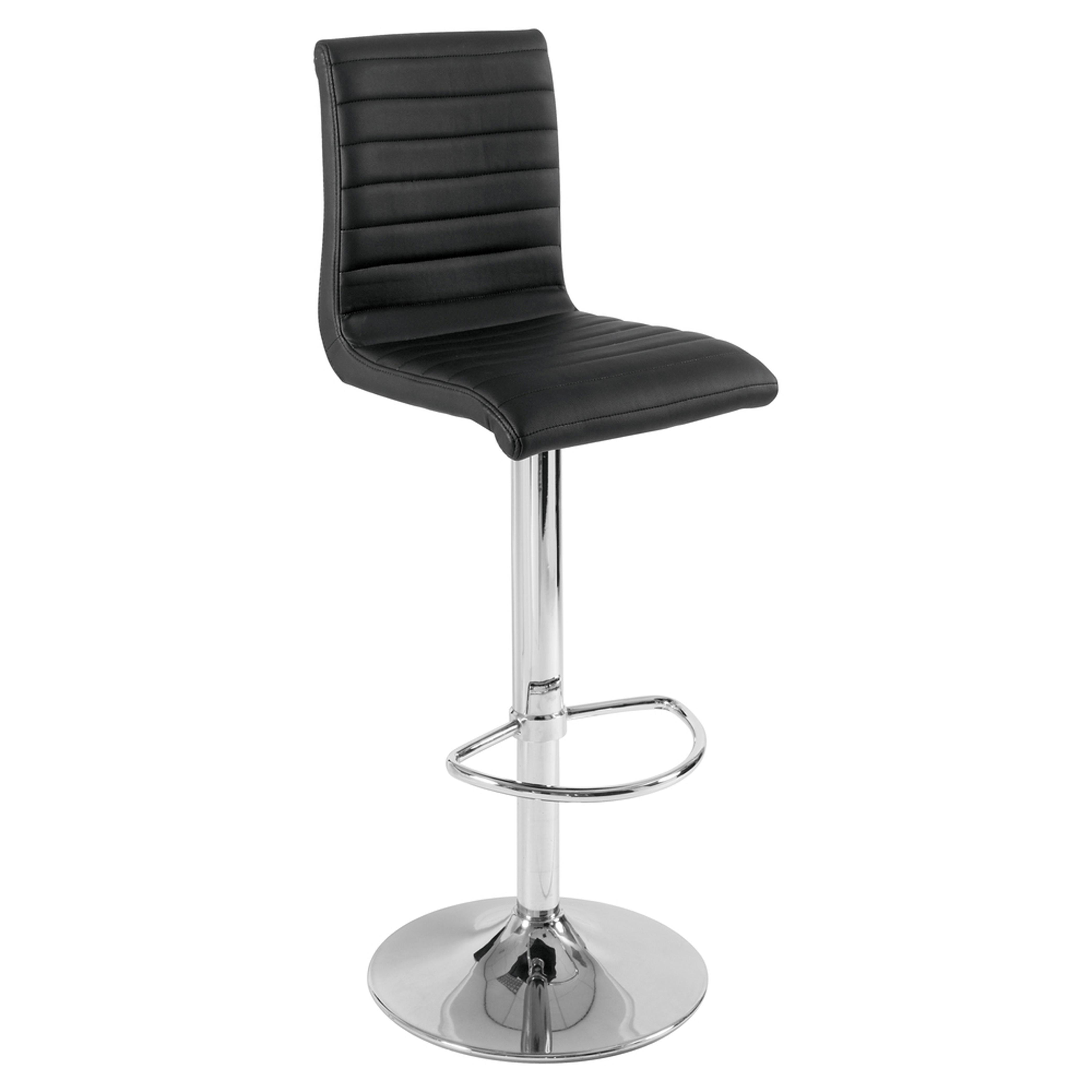 Versa bar stool black