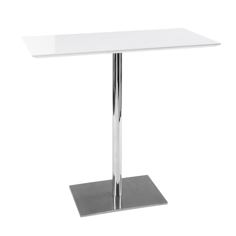 Sicily II bar table white