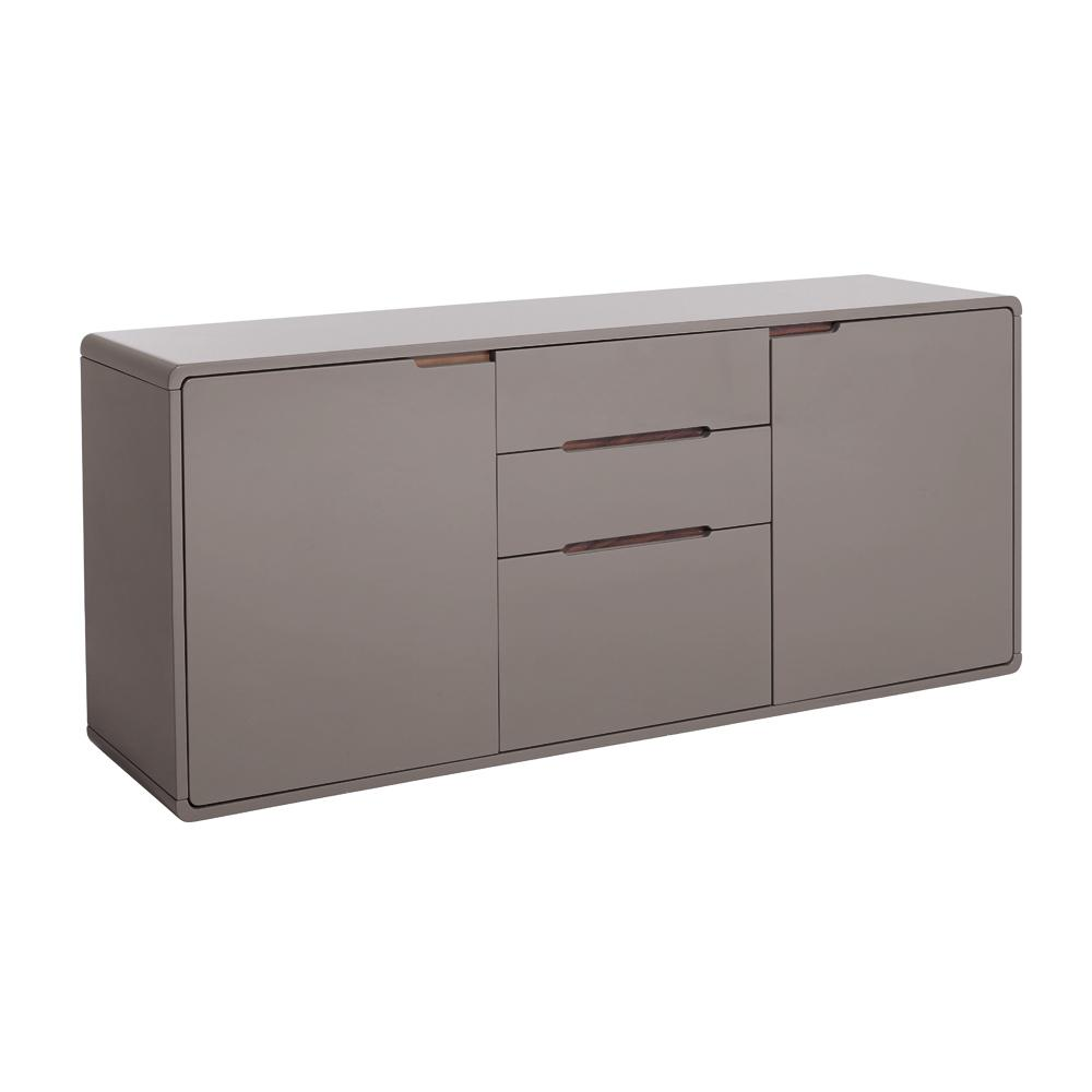 Basel II two door sideboard stone