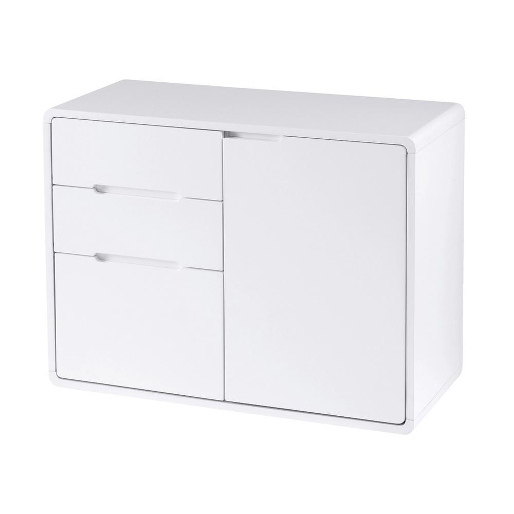 Basel II compact sideboard white