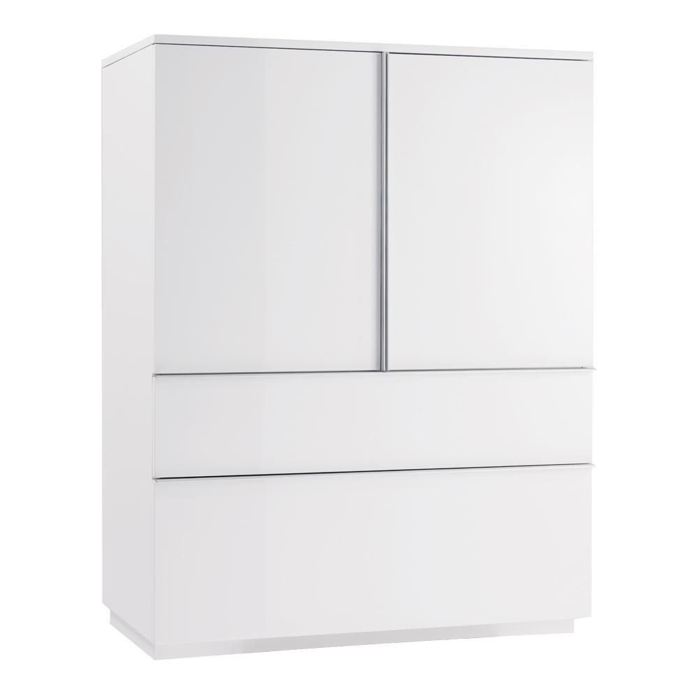Onum storage cupboard white