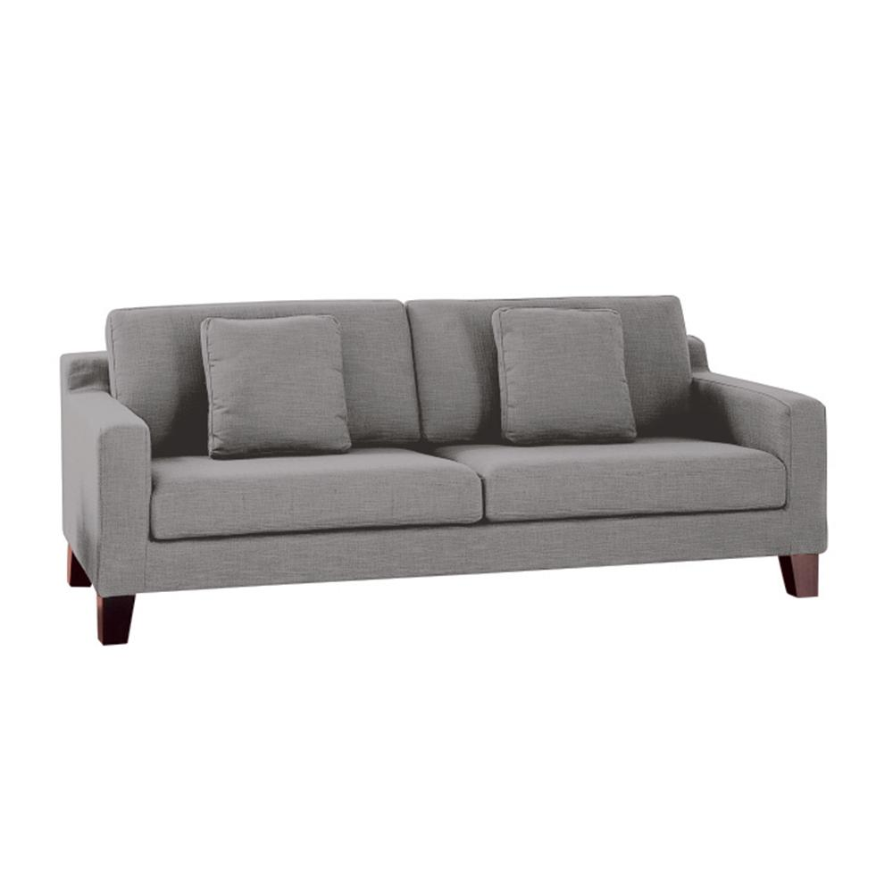Ankara II three seater sofa patet light grey