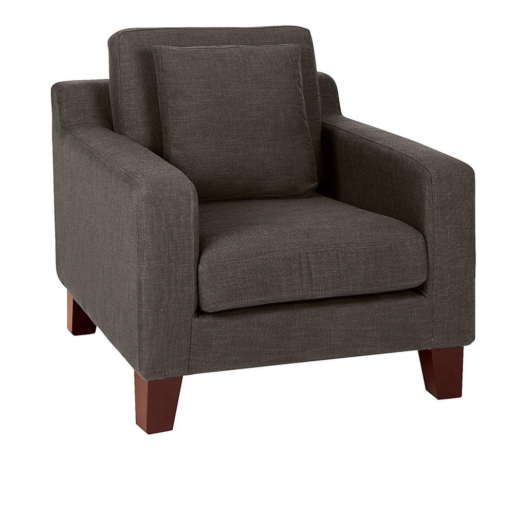 Ankara II armchair patet truffle