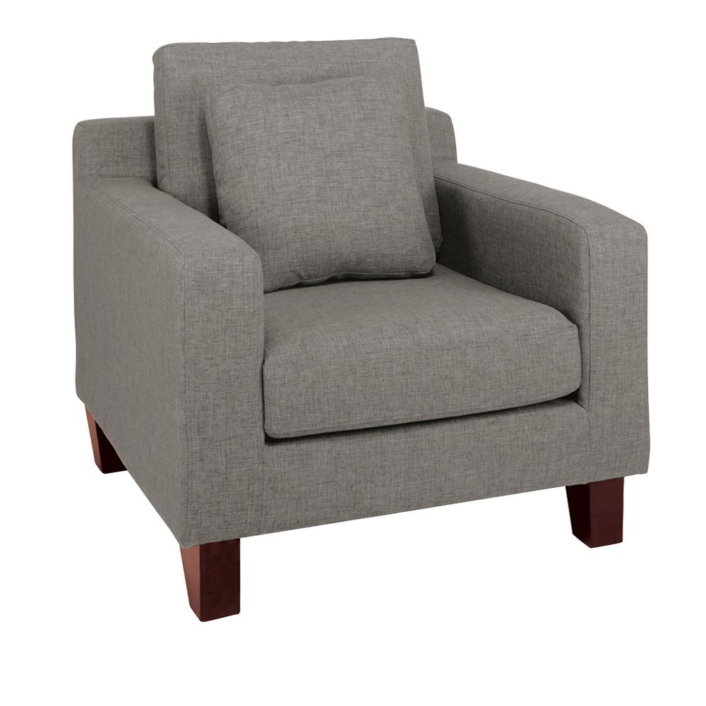 Ankara II armchair patet light grey