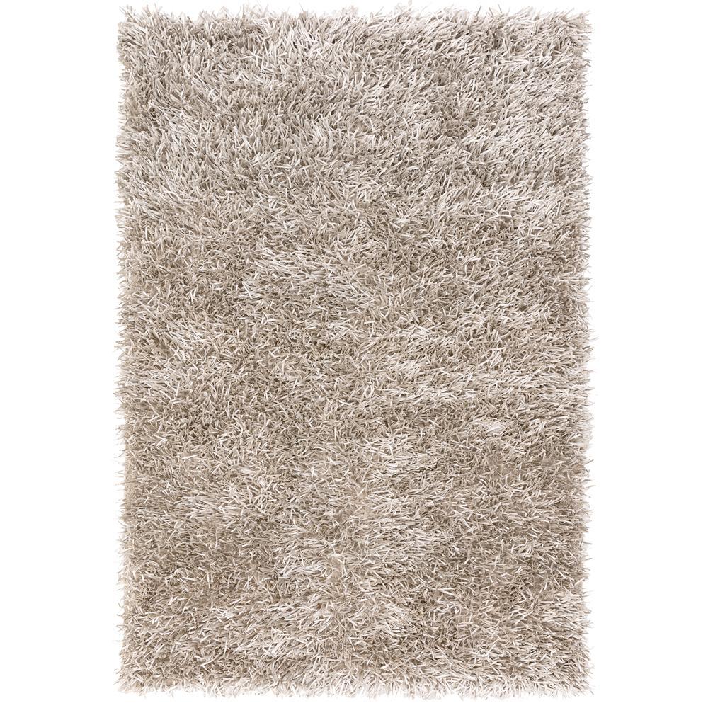 Spike rug medium silver
