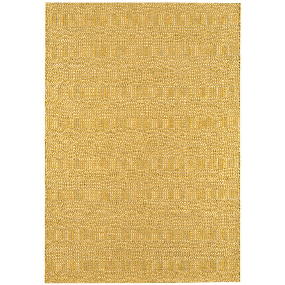 Pippa rug large mustard