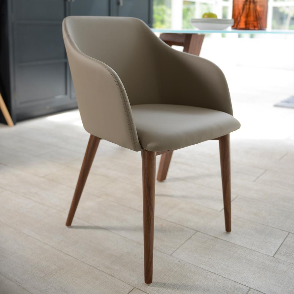 Dip Dining Chair Stone Dwell