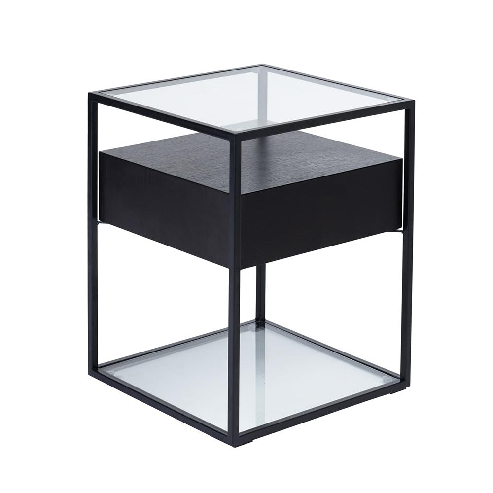 Divario side table darkwood