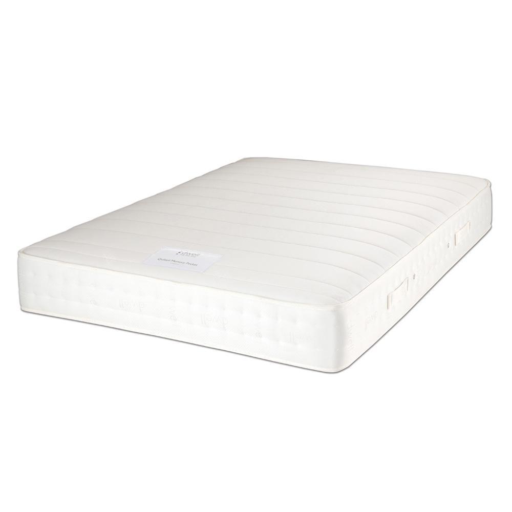 Cotton memory pocket sprung firm king mattress
