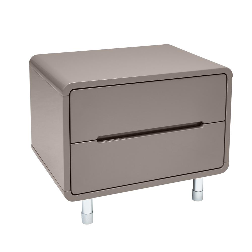 Notch II bedside table stone