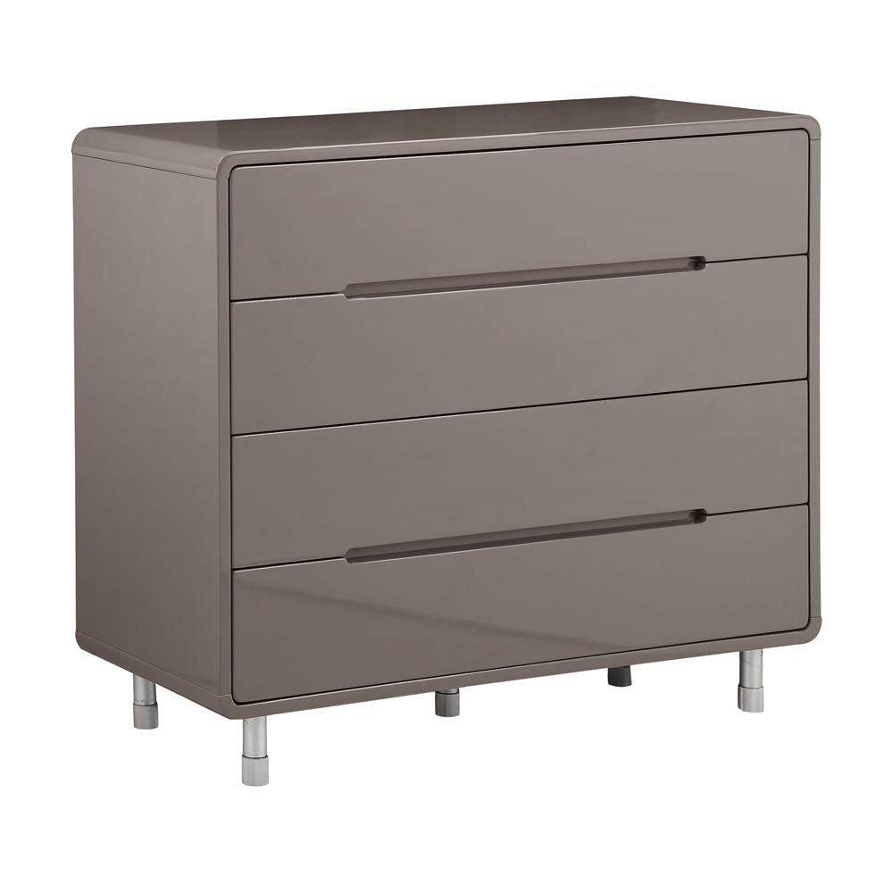 Notch II wide chest of drawers stone