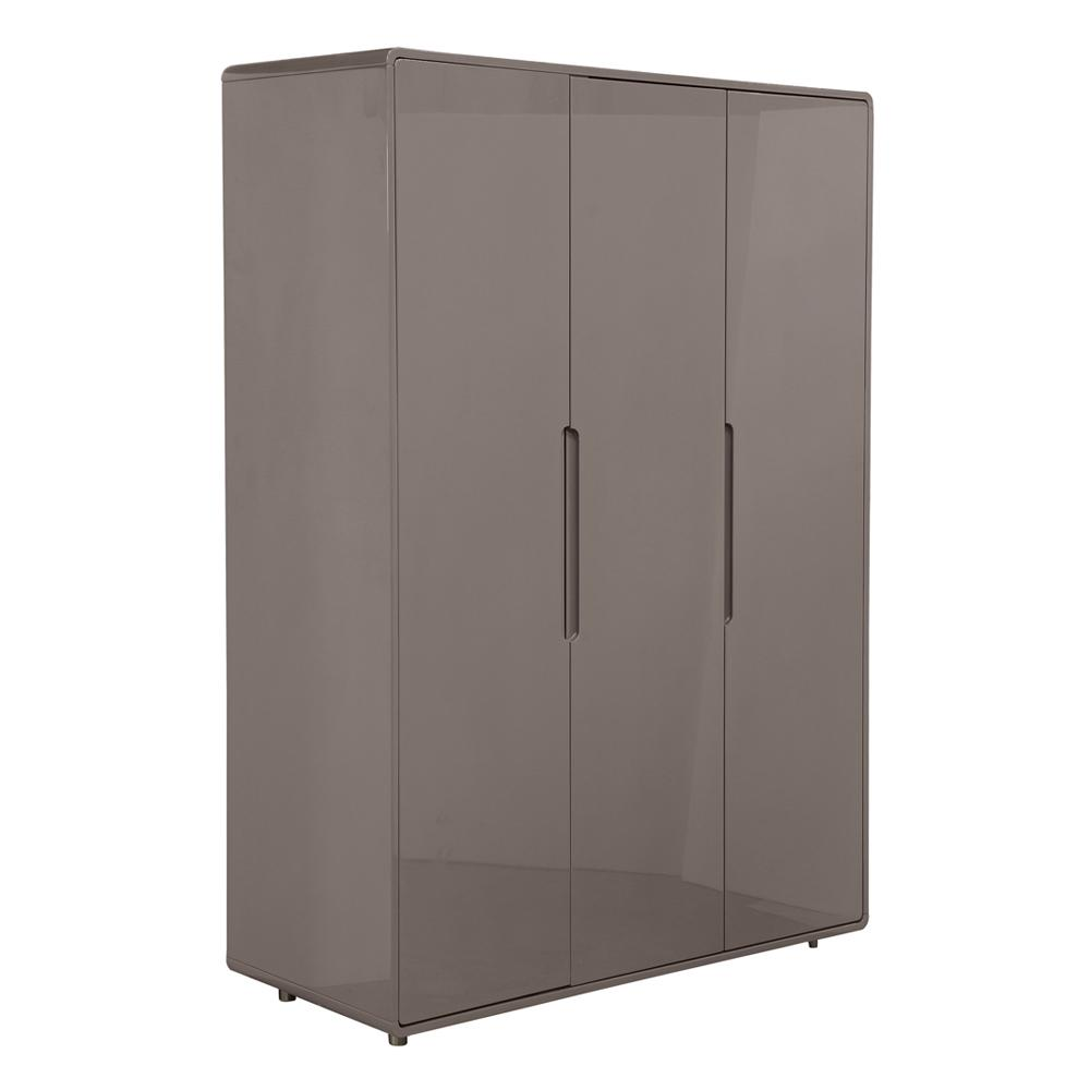 Notch II wardrobe three door stone