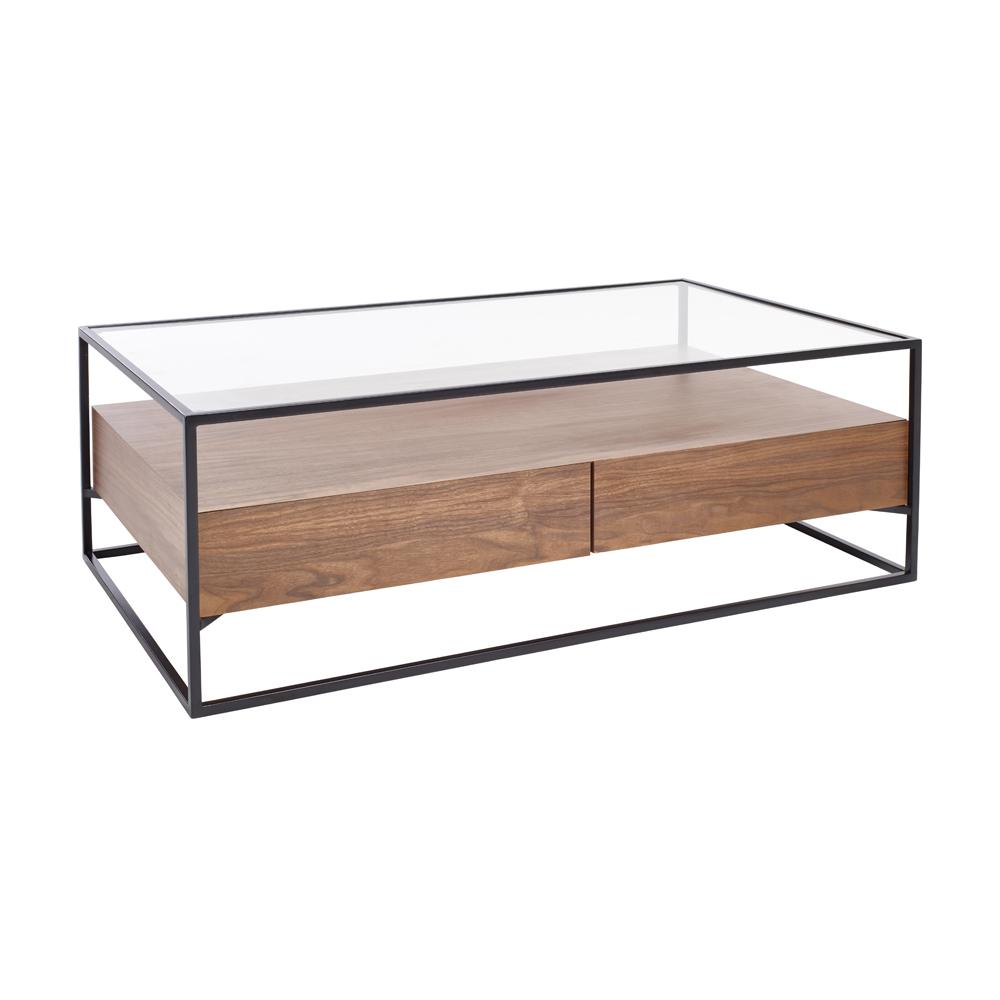 Divario coffee table walnut