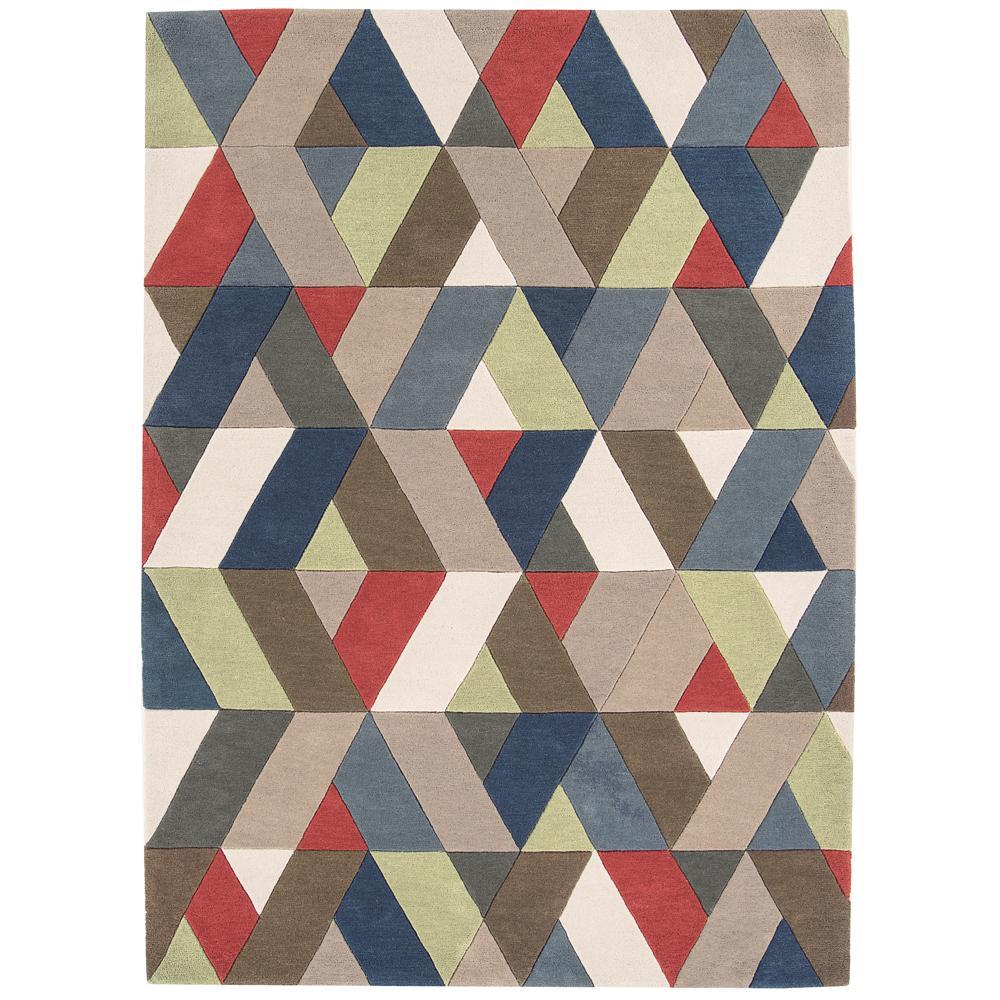 Strelle multicoloured rug large