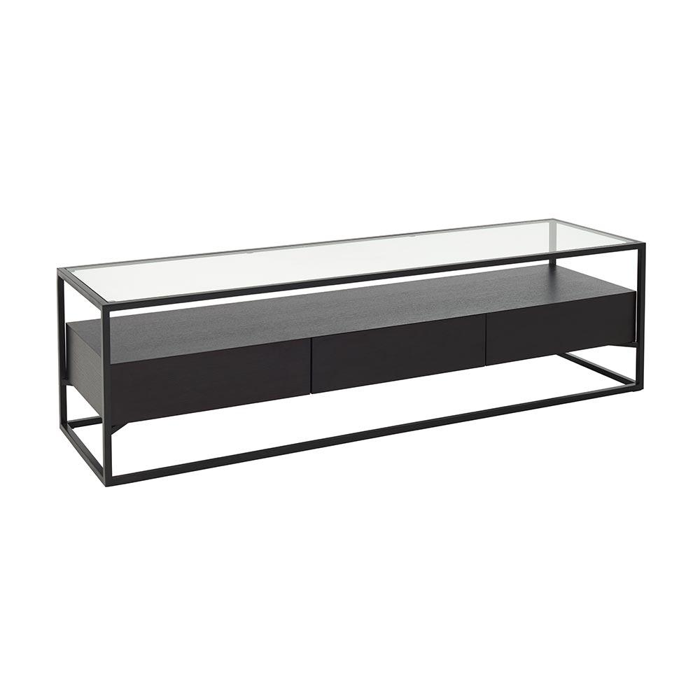 Divario TV unit darkwood
