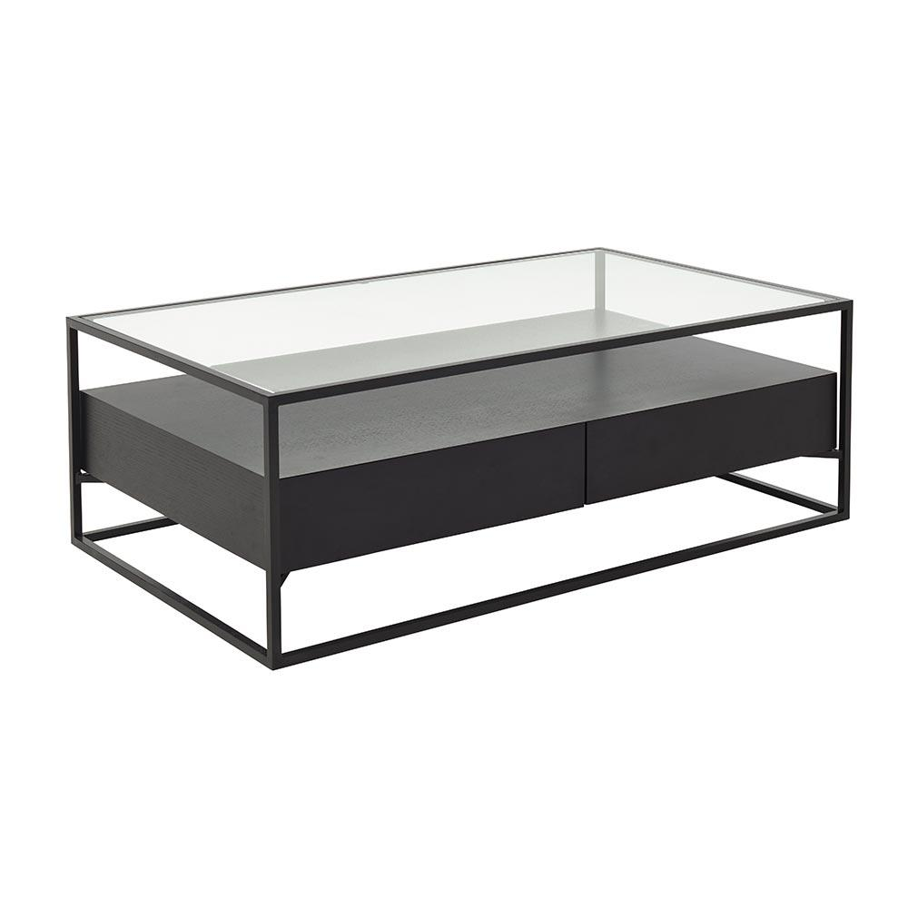 Divario coffee table darkwood