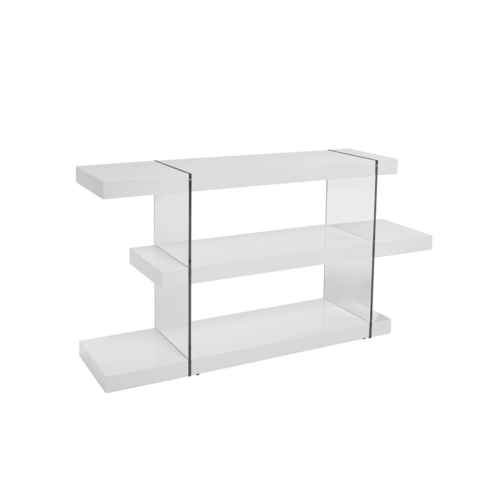 Sturado low shelving white