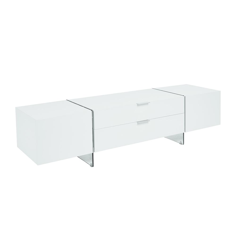 Sturado TV unit white