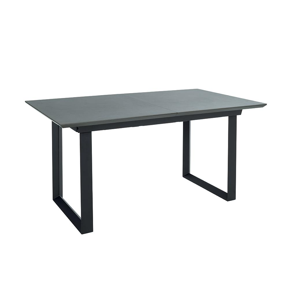 Teno ceramic extending 6-8 seater dining table slate