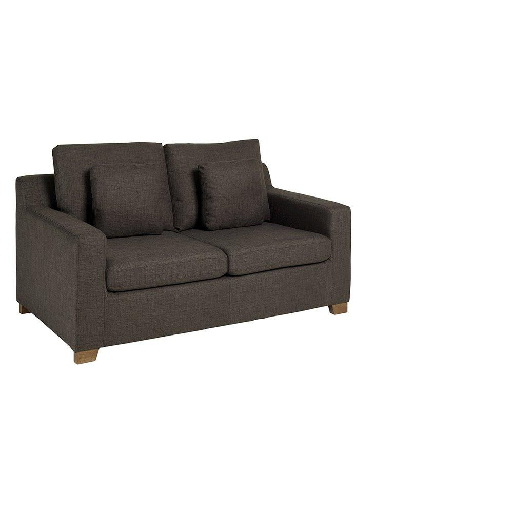 Ankara II two seater sofabed patet truffle