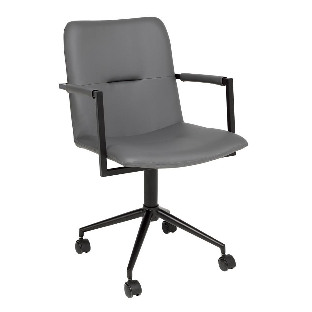Bureau office chair grey