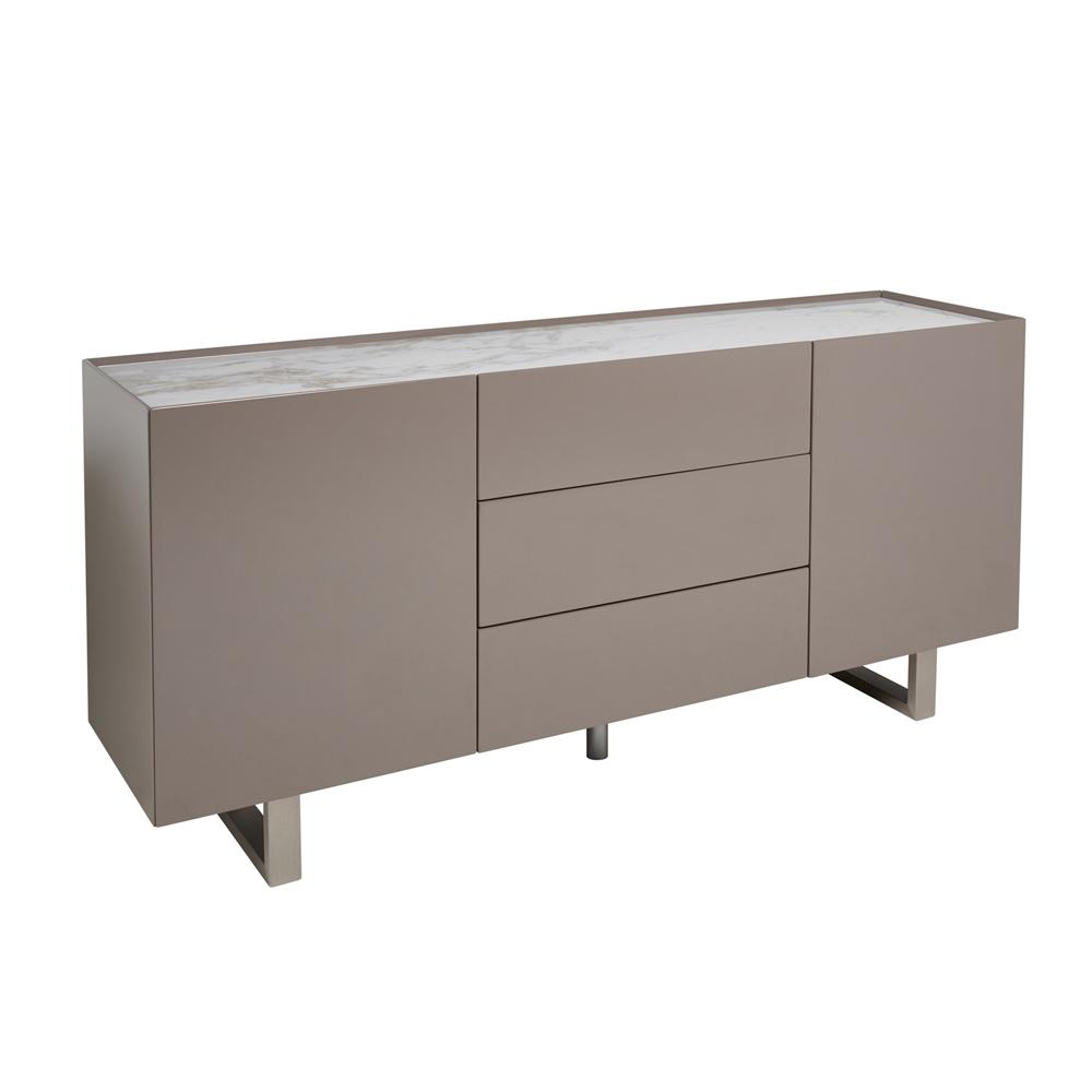 Trento sideboard stone gloss and marble ceramic