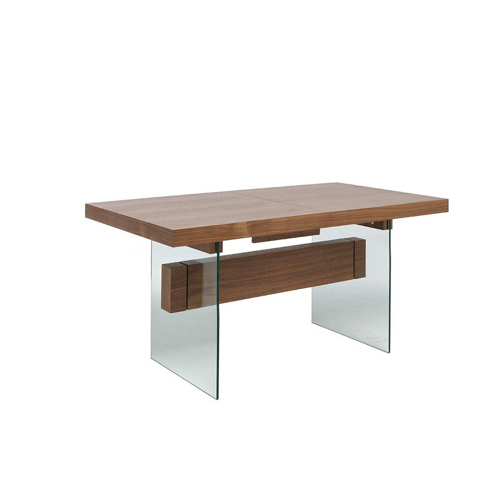 Sturado extending 6-8 seater dining table walnut