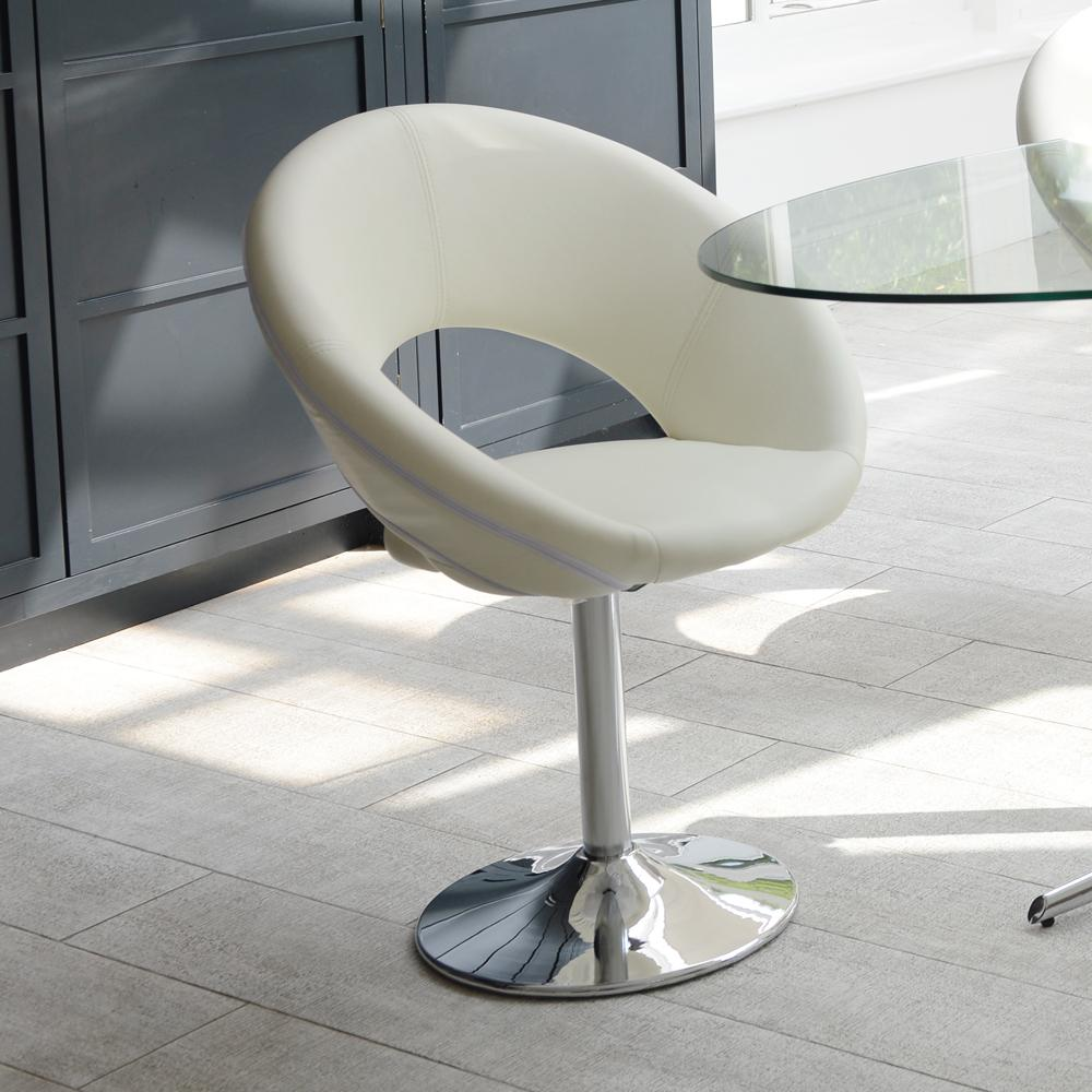 Tenti dining chair white