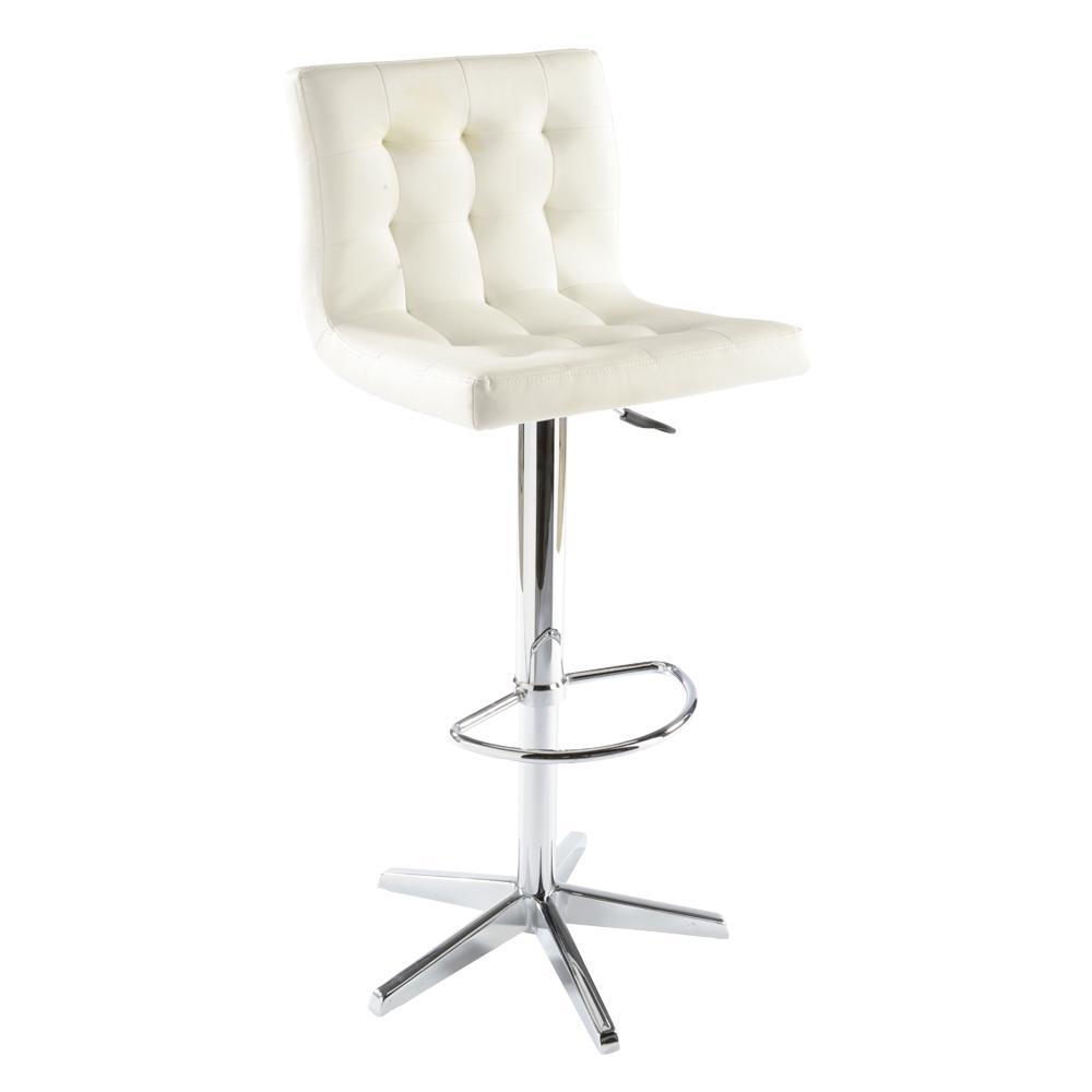Lisse bar stool white