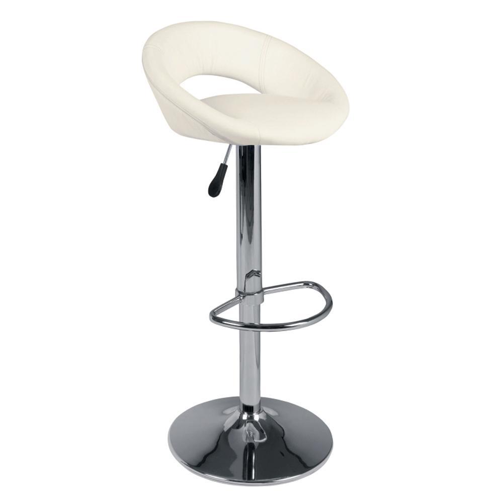 Tenti bar stool white