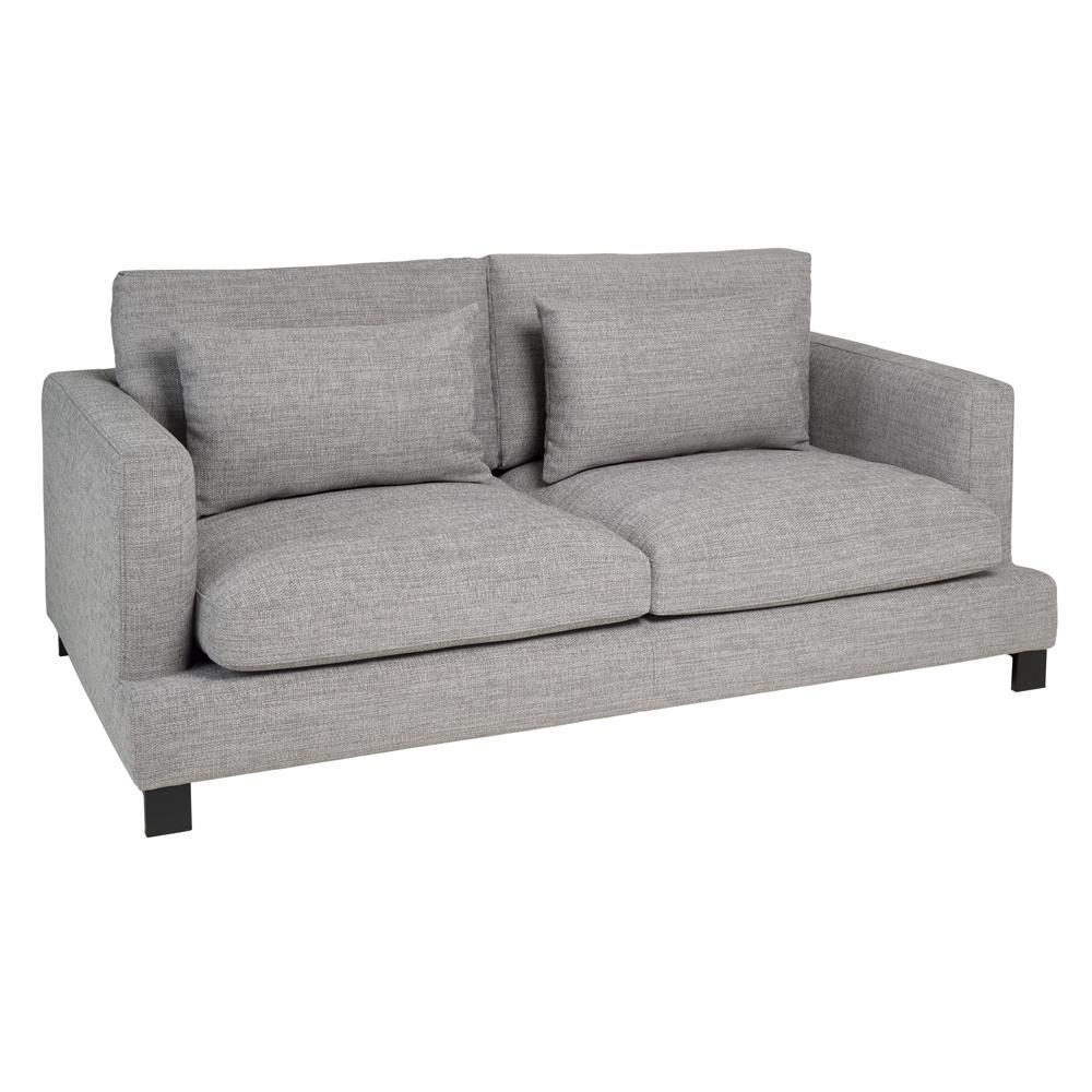 Lugano II three seater sofa callida grey