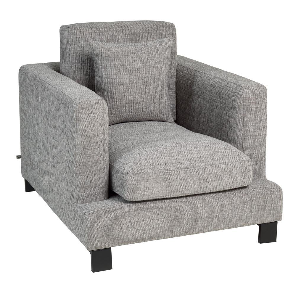 Lugano II armchair callida grey