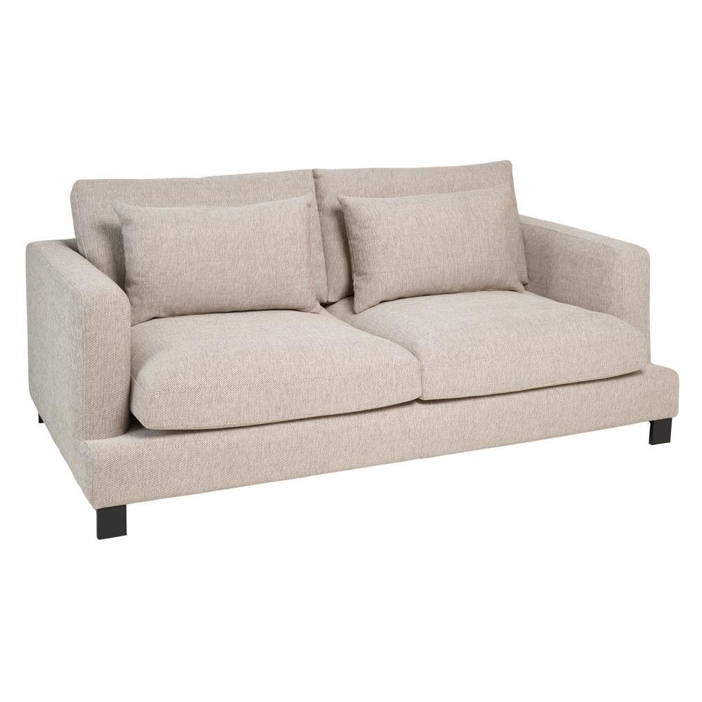 Lugano II three seater sofa callida sand