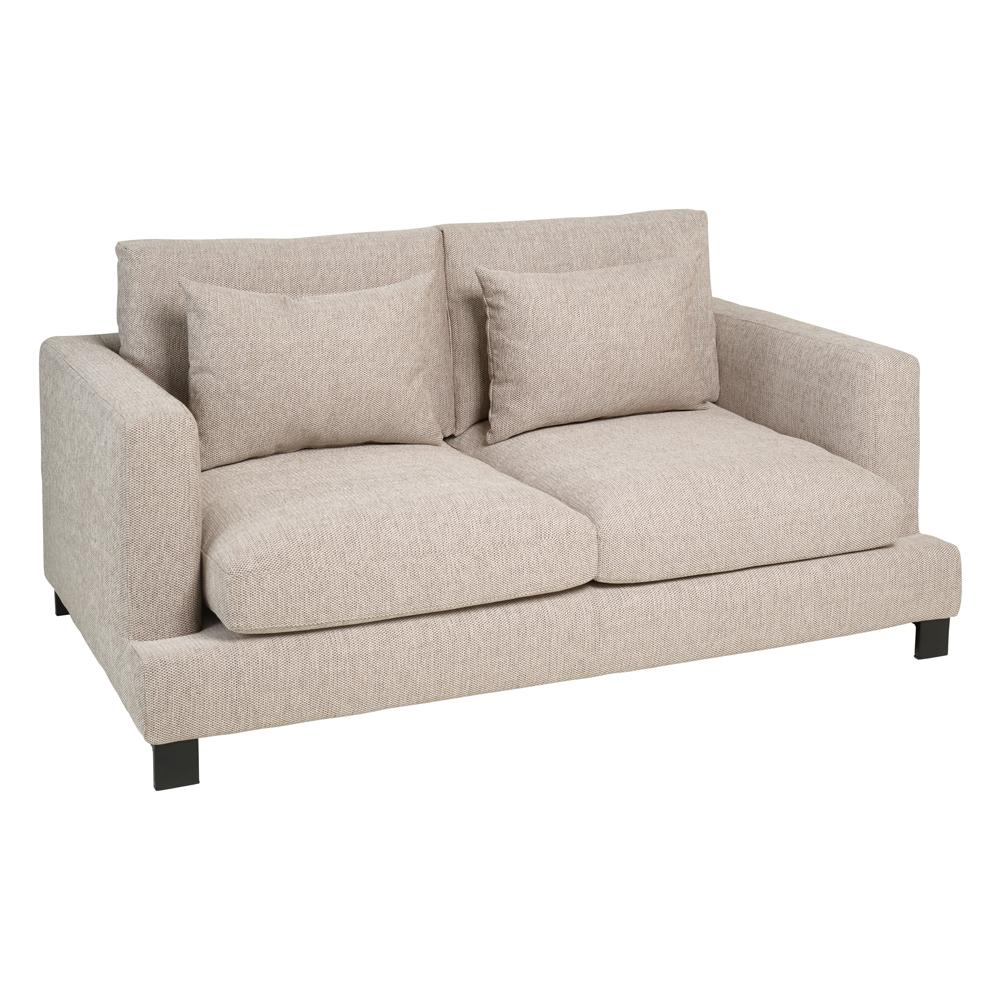 Lugano II two seater sofa callida sand