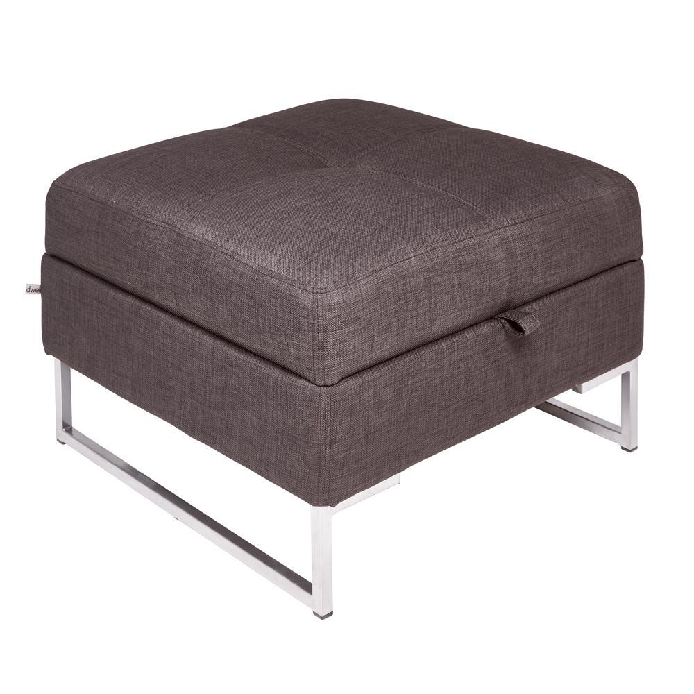 Toleda storage footstool patet truffle