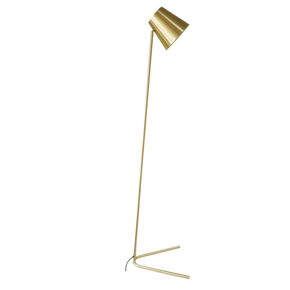 Acento floor light gold