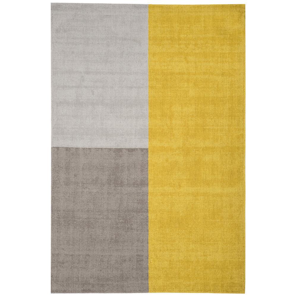 Locca large rug mustard
