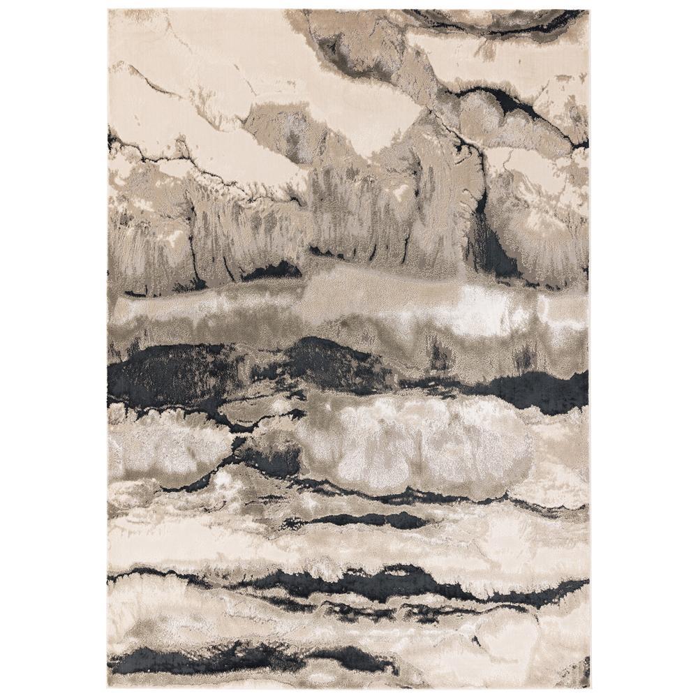 Thea rug medium grey