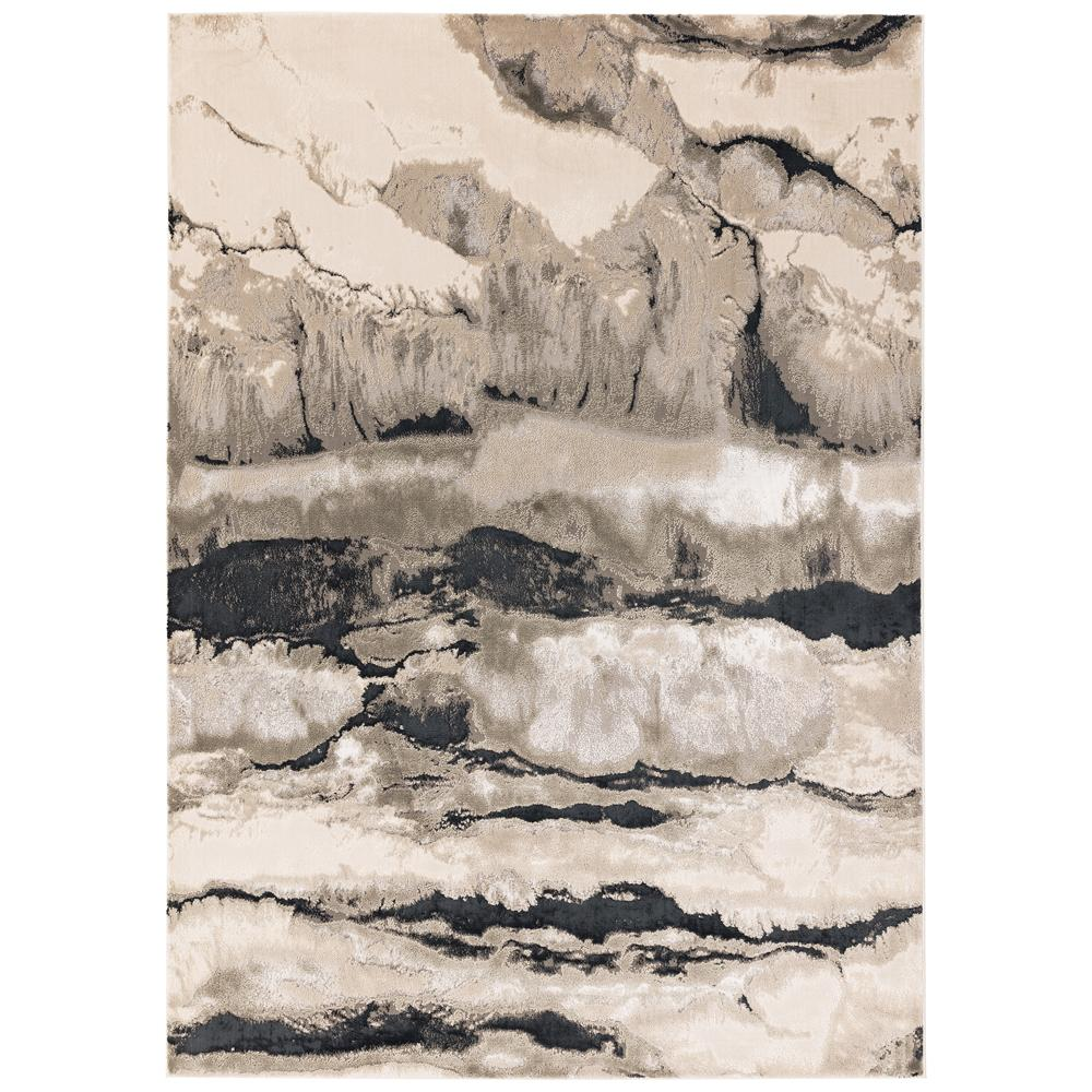 Thea rug large grey