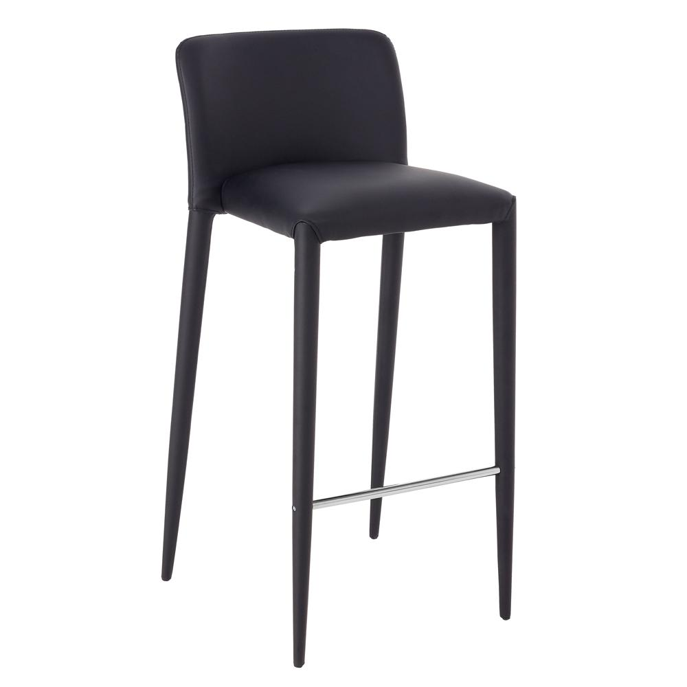 Svelte bar stool black