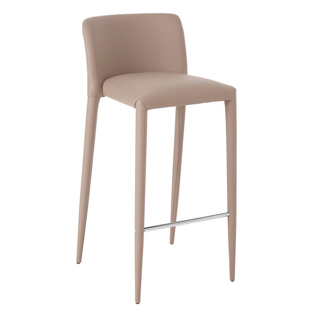 Svelte bar stool stone