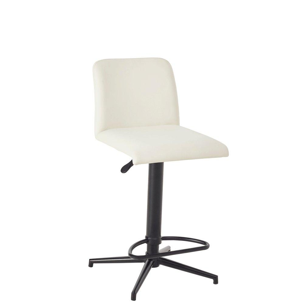 Barco bar stool white