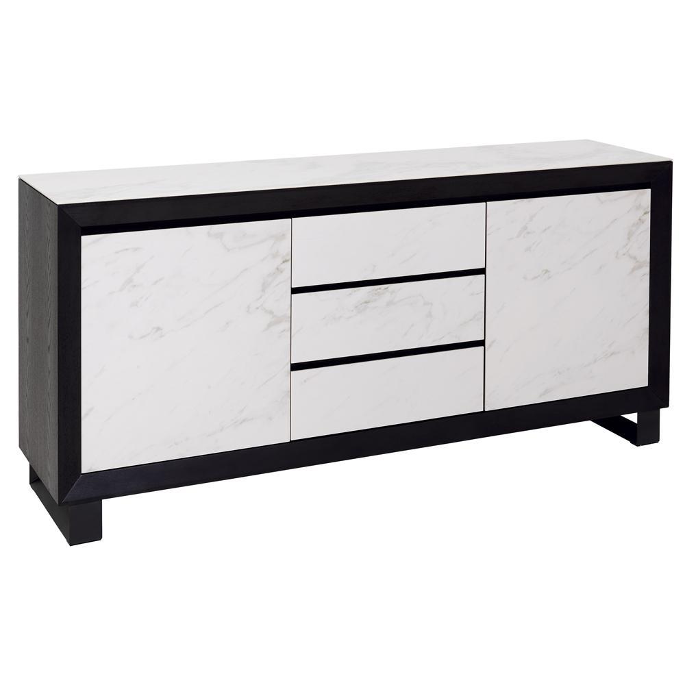 Teno sideboard white marble ceramic