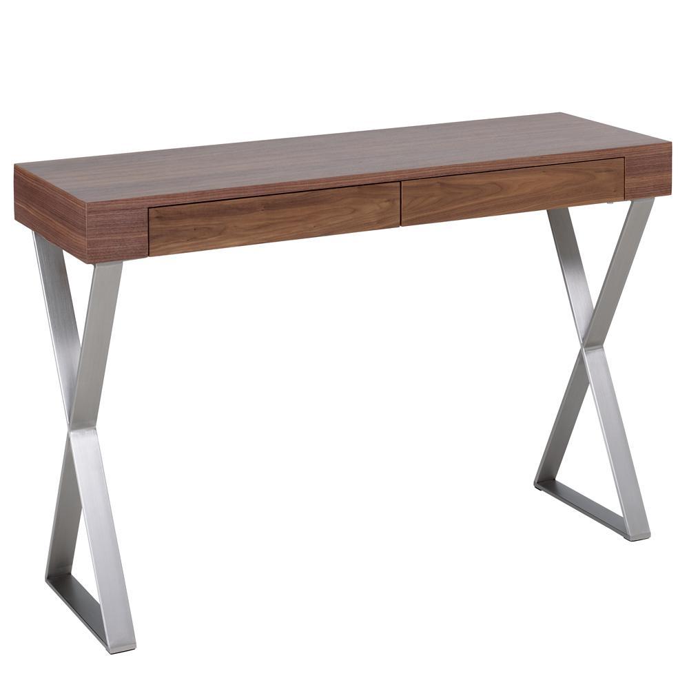Attra console table walnut